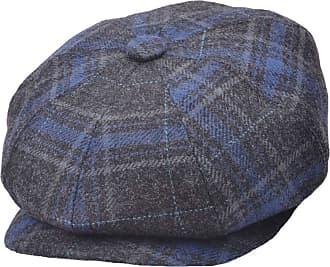 GFM 8 Panel Wool Blended Grey Baker Boy Cap Gatsby Style hat (BKB-GN245-87)