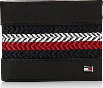 4790954608b Tommy Hilfiger heren Corp webbing Mini CC Wallet Portemonnee, zwart (Black),  1.5