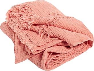 HAY Crinkle Decke - pfirsich/LxB 210x150cm