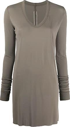 Rick Owens long sleeve tunic top - Grey