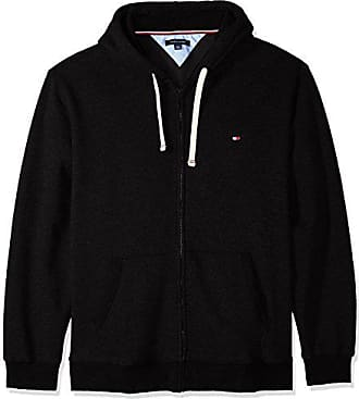 3902114bed Tommy Hilfiger Mens Big and Tall Zip Up Hoodie