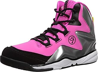 908a4251fd8b48 Zumba Womens Energy Boom High Top Workout Sneakers Dance Shoe