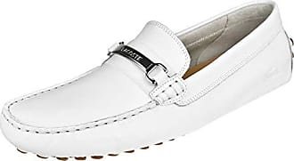 2605163d4241 Lacoste Mens ANSTED Driving Style Loafer White Gum 8 Medium US