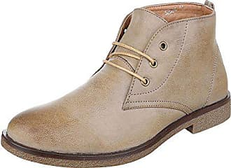 Ital-Design Stiefeletten Herren Schuhe Desert Boots Blockabsatz Moderne  Schnürsenkel Ital-Design Boots Beige 054de6b9a0