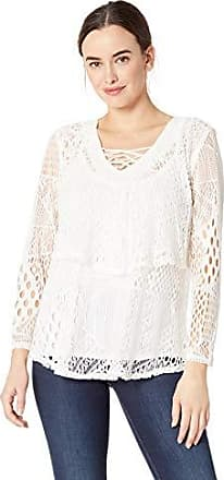 Skyes The Limit Womens Petite Lace Tiered Top