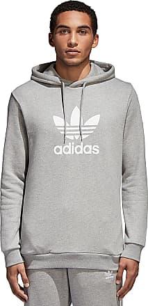 a27fc0fb722c adidas Originals Trefoil - Kapuzenpullover für Herren - Grau