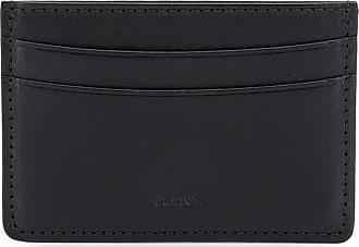 A.P.C. Porta-cartões - LZZ NOIR BLACK