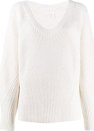 See By Chloé oversized ribbed jumper - Branco