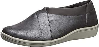 Copper Fit Womens Restore A Line Slip On Sneaker Shoe Navy Blue Size 8.5 M US