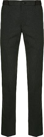 Kolor checkered elasticated-waist trousers - Grey