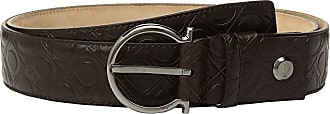 Salvatore Ferragamo Adjustable Belt - 679881 (Fondente) Mens Belts