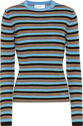 Victoria Beckham Striped wool sweater