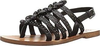 Patricia Nash Womens Rosetta Heeled Sandal Black 38 B US