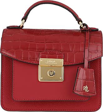 Lauren Ralph Lauren Satchel Bags - Beckett 19 Satchel Small Red - red - Satchel Bags for ladies