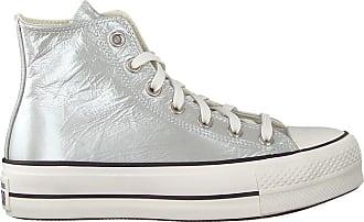Converse Zilveren Converse Hoge Sneaker Chuck Taylor All Star Lift Hi