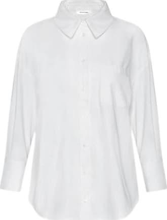 Hvit business skjorte for damer
