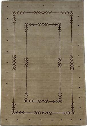 Nain Trading 177x116 Tappeto Loom Gabbeh Lori Marrone Scuro (India, Il lavoro manuale, Lana)