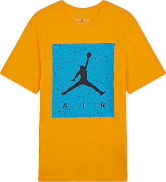 free shipping 95bba 3731e Nike TEE SHIRT JORDAN POOLSIDE JORDAN JAUNE BLEU XL HOMME JORDAN JAUNE BLEU  XL