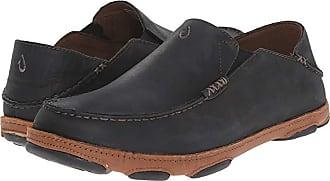 Olukai Moloa (Black) Mens Slip on Shoes