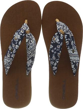 O'Neill Fw Ditsy Sun Sandalen, Womens Flip Flop Flip Flops, Multicoloured Blue Aop W Blue 5950, 7/8UK (41 EU)