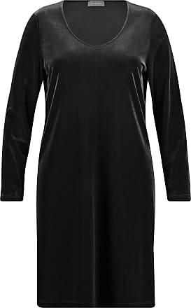 Samoon Kleid Gewirke »kleid In A-linie« Black