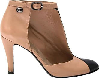 37e0d79f2cd Chanel Dorsay Half Ankle Boots - Size 38