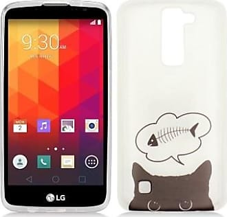 Mundaze Hungry Cat Dreaming Gel Skin Flexible TPU Case For LG K7 Tribute 5 Escape 3 Phone