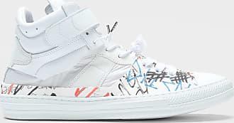 Maison Margiela Graffiti Evolution High-top Sneakers