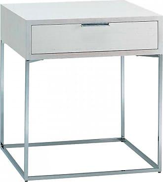 ZANOTTA Design Oscar Bedside Table White Lacquered Oak