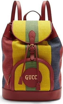 Gucci Sac à dos en toile rayée Baiadera
