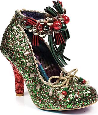 Irregular Choice Princess Promise - Green Glitter