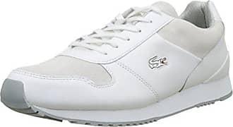 b6ff7fa445 Lacoste Sport Trajet 417 3 SPM, Baskets Basses Homme, Blanc (WHT),