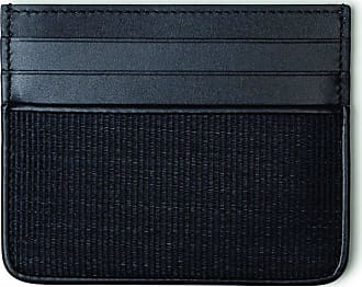 MQaccessories Cardholder in Horsehair Fabric with Six Credit Card Slots