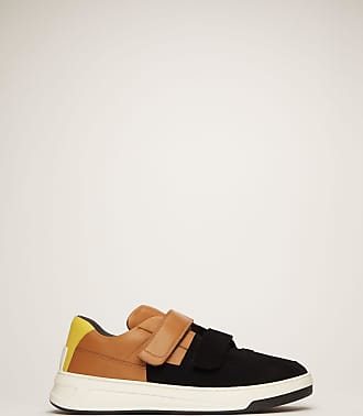 Acne Studios Perey Flocked Black/brown/white Flocked velcro sneakers