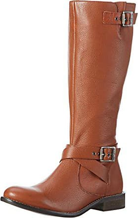 7565552cf56f Pepe Jeans London Damen Muse Strap Langschaft Stiefel, Braun (Nut  Brown877), 39