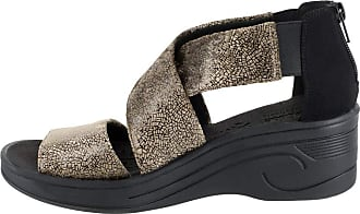 Easy Street Womens Sublime Fabric Round Toe Casual, Taupe-Shimmer, Size 9.5 US/US