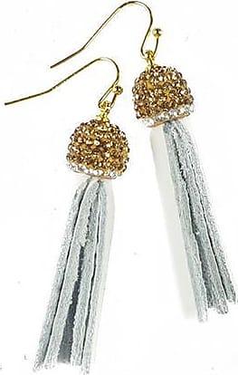 Fabulina Designs Tisla Earrings - White