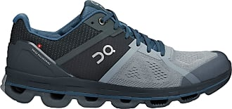 On On Running Mens Cloudace Mesh Mist Stone Trainers 8 UK