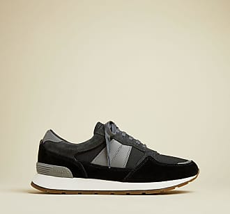 Ted Baker Leather Tonal Trainers in Black RACOR, Mens Accessories