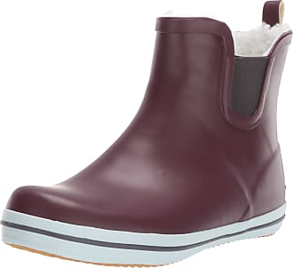 kamik Womens SHELLYLO Rain Boot, Red Burgundy Bourgogne Bur, 8 UK