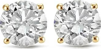 Pompeii3 75 cttw Diamond Studs 14k Yellow Gold