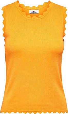 Jacqueline de Yong Top Woman Delilah s/l Top Knt Denim 15200523 - Yellow - S