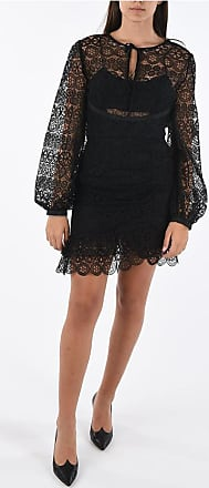 Self Portrait long sleeve lace dress size 12