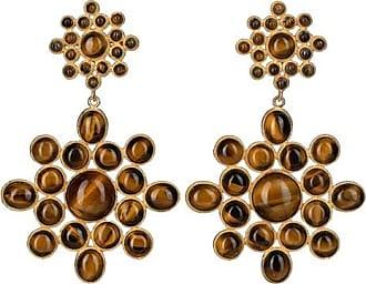Christie Nicolaides Ursula earrings brown