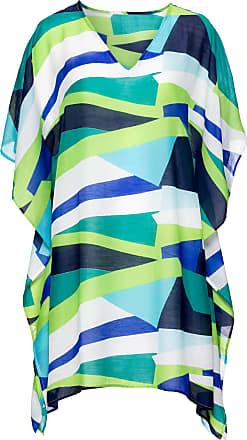 3f70d06280e9 Bonprix Dam Strandklänning i grön halv ärm - bpc selection
