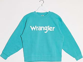 Wrangler Felpa blu con logo