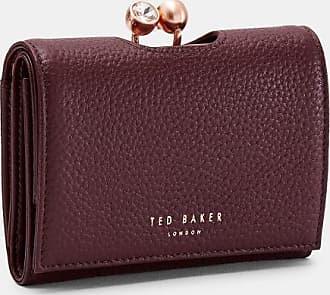 Ted Baker Crystal Mini Bobble Purse in Maroon SURI, Womens Accessories