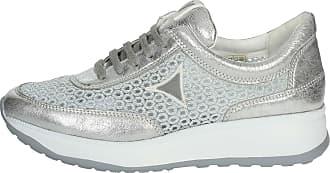 Cinzia Soft IV8137A-GM 002 Sneakers Women Silver 39 ee38ba42aec