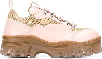 Msgm Tractor Sneakers - Nude