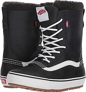 cc39a04e20 Vans Standardtm Snow Boot 18 (Black White) Mens Snow Shoes